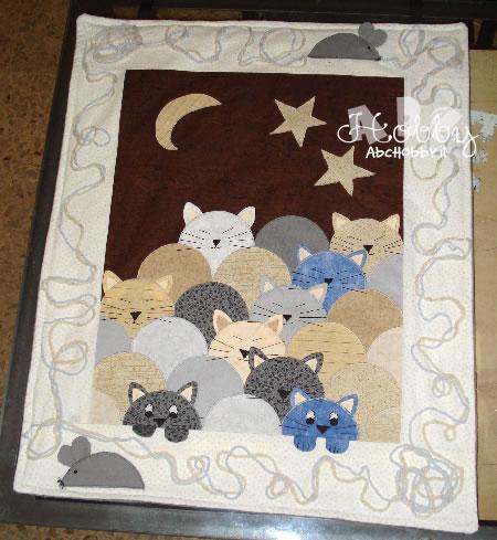 Patchwork quilt e applique la guida agli for Cucito creativo gatti